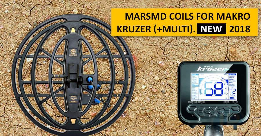 MarsMD coils for Makro Kruzer (+Multi). NEW 2018