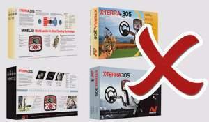Changes in Minelab X-Terra 305/505/705 (upgrade)