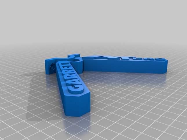 3D Printed Metal Detector Bipod