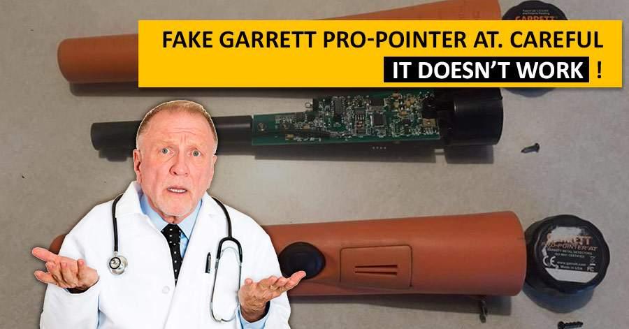 Fake Garrett Pro-Pointer AT. Careful, it doesn't work!