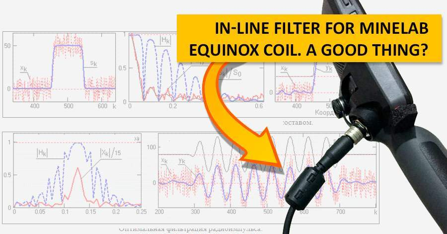 In-line filter for Minelab Equinox coil. A good thing?