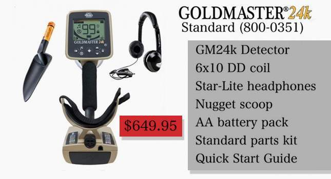 White's Goldmaster 24K. NEW 2018 (+ price, video)