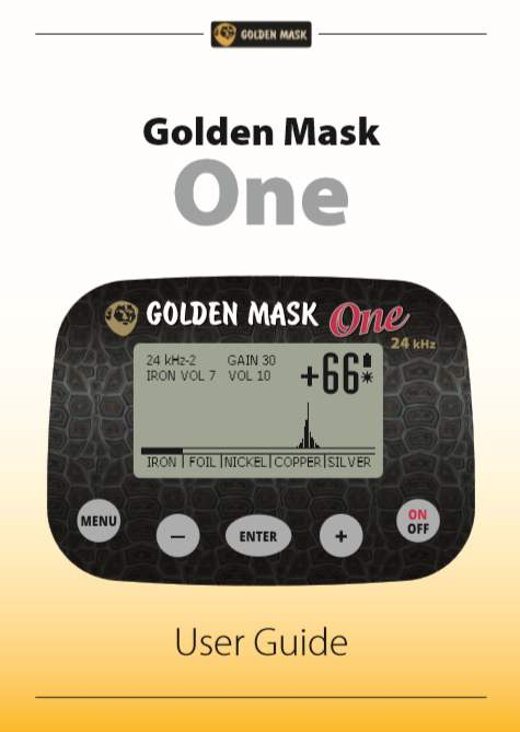 Golden Mask ONE 24 User Guide