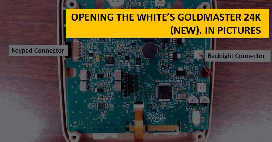 Opening the White's Goldmaster 24K (new). In pictures
