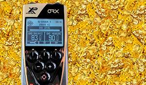 Can the XP ORX pick up gold nuggets? 60.66 grams in one outing