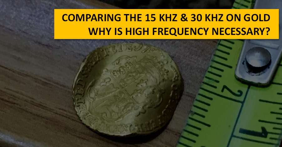 Comparing the 15 kHz & 30 kHz on gold. Why is high frequency necessary?