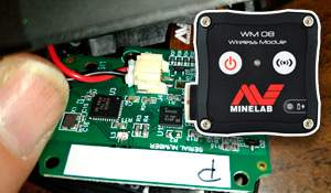 Minelab WM-08 Teardown + signal problem solution
