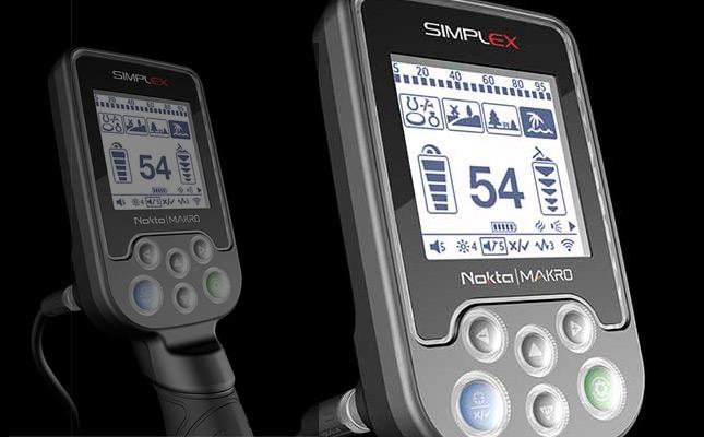Nokta SimplEX detector (price $299). NEW 2019